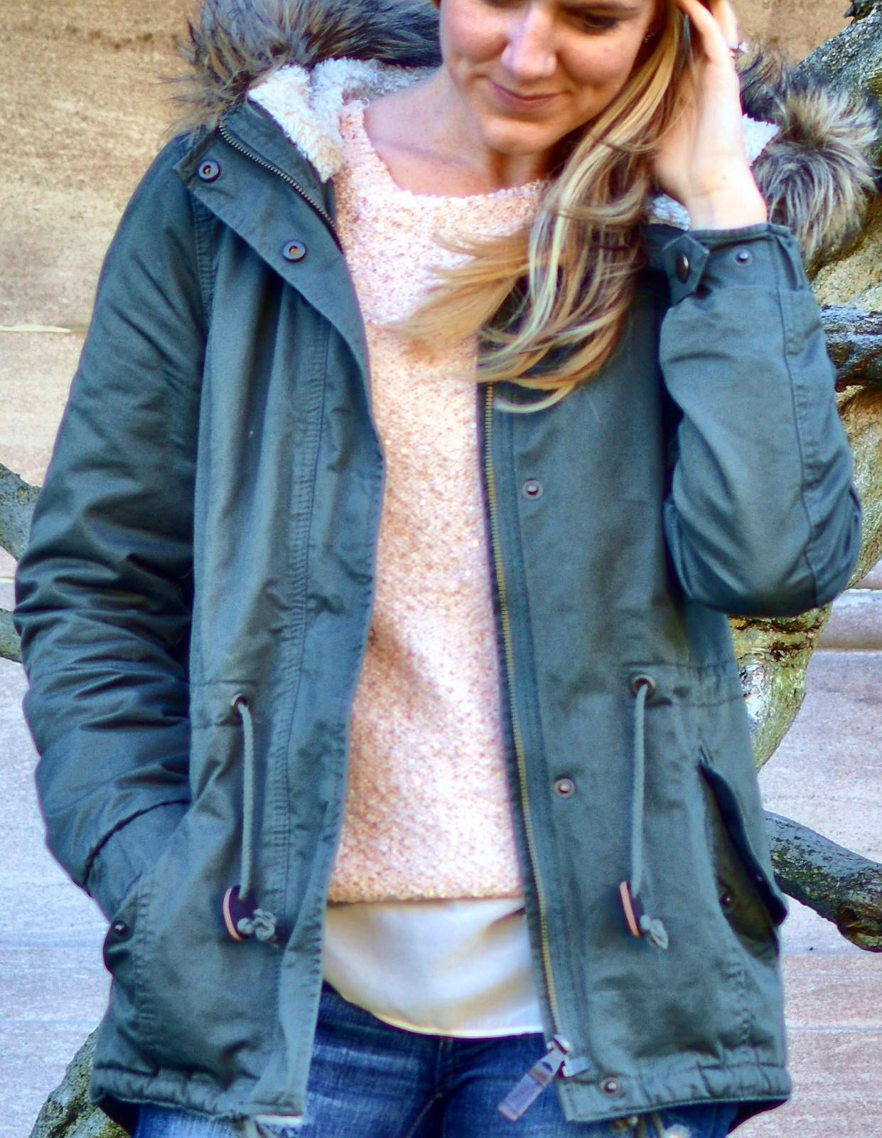 Faux Fur-lined Parka H&m